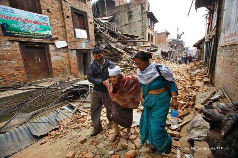 nepal disaster AP