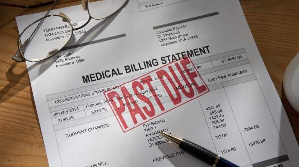 Medical/Hospital Statement Past Due