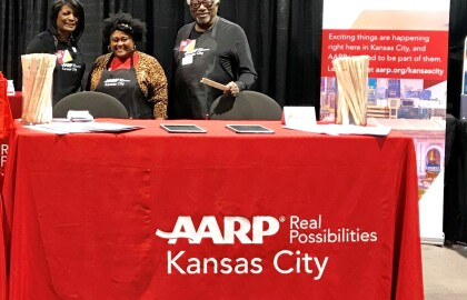 It as great seeing you at the  AARP in Kansas City booth at the Home & Remodeling Show!