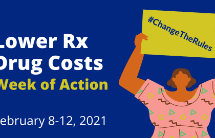 Lower Rx Drug Prices: Week of Action