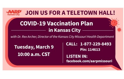 Live Event: Kansas City, MO COVID-19 Vaccination Plan - March 9th