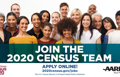 The U.S. Census Bureau is Hiring