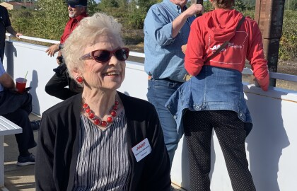 A History of Service Drives Betty DeBroekert's Goal to Make a Difference