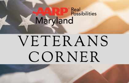 AARP Maryland Veterans Corner: November 2020