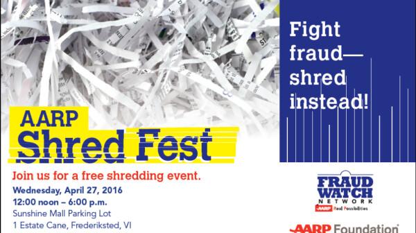 AARP Shred Fest VI 2016