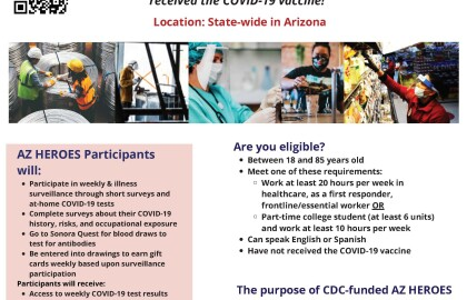 Arizona Essential Workers: Help is Needed to Understand Covid-19