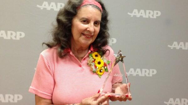 Ruth Levins wins Andrus Award