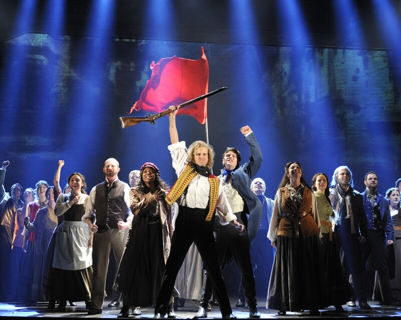 Les Misérables by Cameron Mackintosh, opening night November 28
