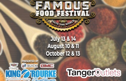 Join AARP NY at the Famous Food Festival!