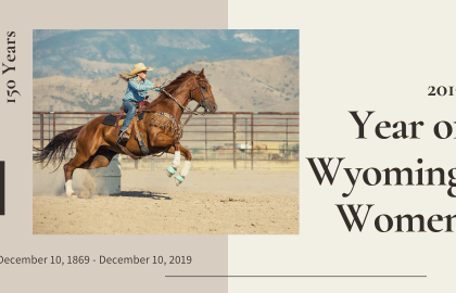 Wyoming Women's Suffrage Events