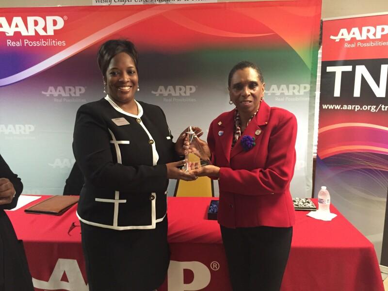 AARP TN presents 2015 Andrus Award