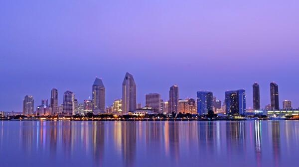 San_Diego_Skyline_at_Dawn