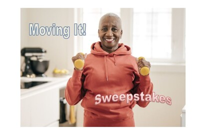 Moving It! Sweepstakes. Register to win!