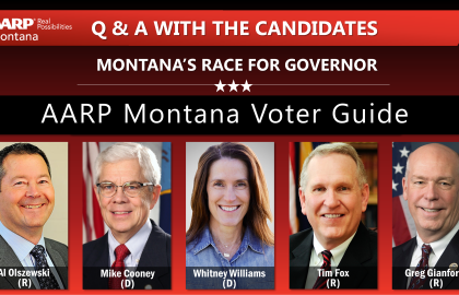 Q & A with the Candidates in Montana's Race for Governor: 5 Candidates, 5 Questions - Find Out Their Answers Below