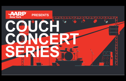 AARP NY Presents: Couch Concert Series