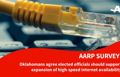 OlderOklahomans Voters WantExpandedHigh-Speed Internet Access, Survey Shows