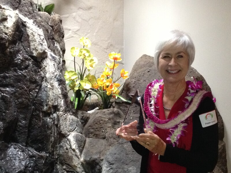 AARP Hawaii's highest award for volunteer community service