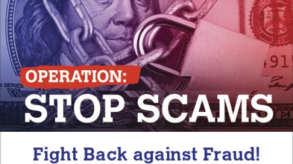 Operation: Stop Scams Logo