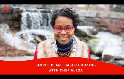 Join AARP New York for a Virtual Plant Based Cooking Class!