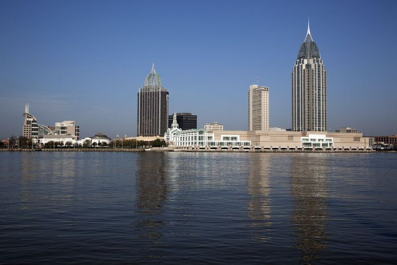 Mobile-Alabama-Skyline