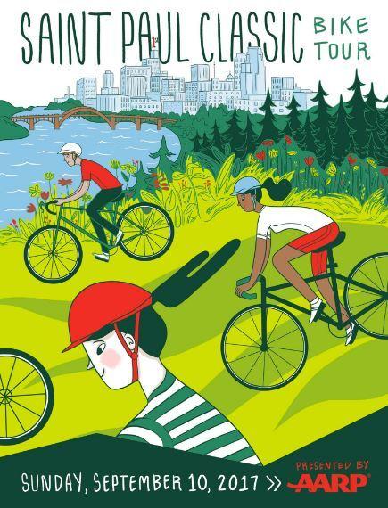 Bike tour 2017 poster