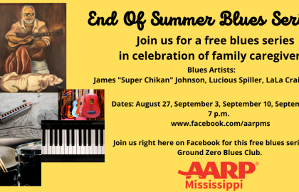 AARP Mississippi End Of Summer Blues Series