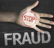 Stop fraud graphic