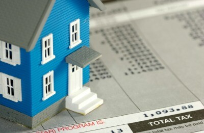 Homeowner Tax Concept