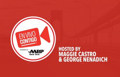 AARP New York En Vivo Contigo te presenta a personas prominentes e influyentes del estado y líderes comunitarios