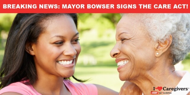 DC-CARE Act Thanks Mayor Bowser