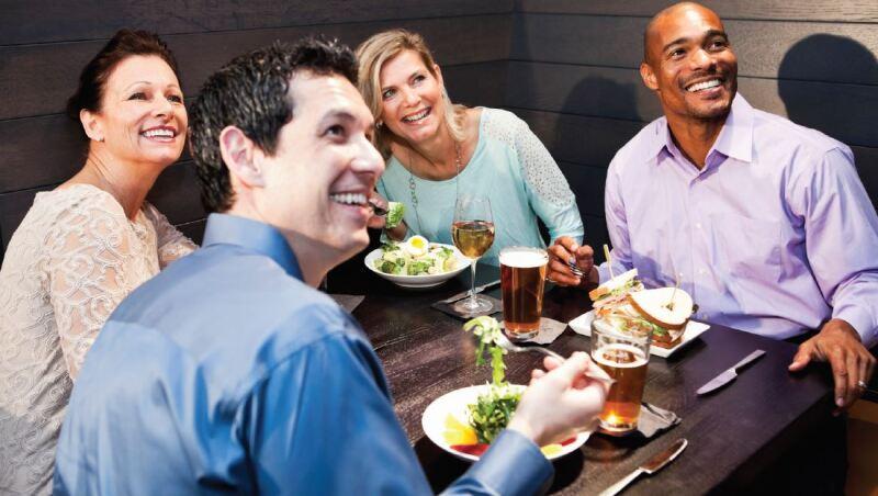 Dinner group pic