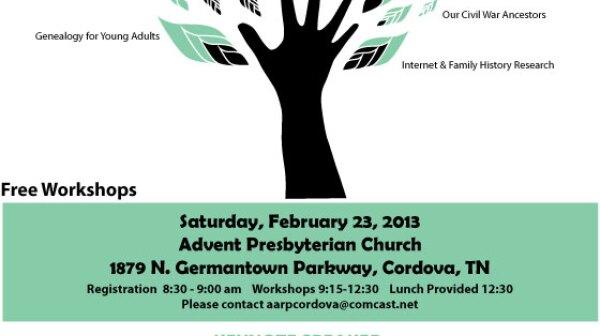 Reclaim Ancestors workshop flyer