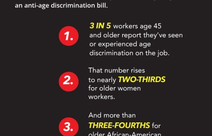 AARP Oregon Applauds Oregon's Entire House Congressional Delegation for Bi-Partisan Legislation to Stop Age Discrimination in Employment