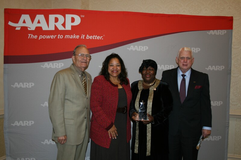 Dr. Elaine Baker Honored With AARP Mississippi Andrus Award for Community Service