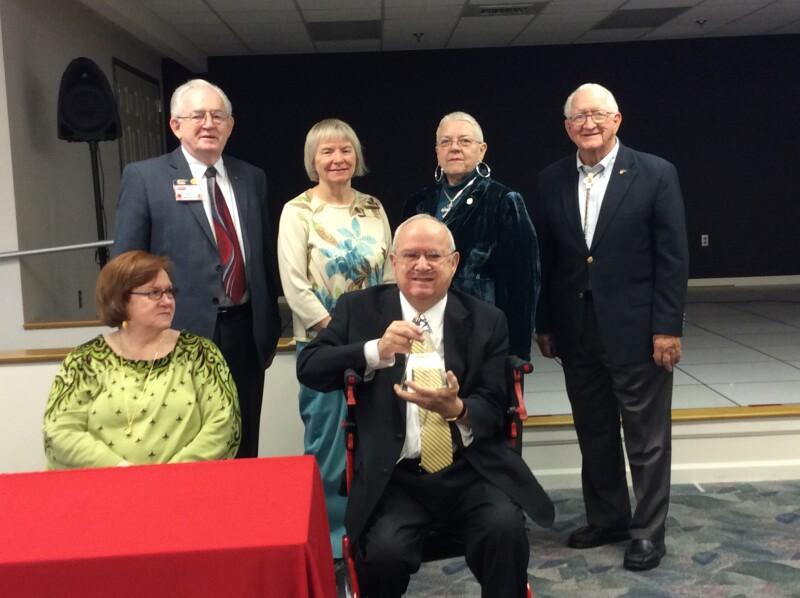 Bill Richards 2014 AARP Alabama Andrus Award Winner