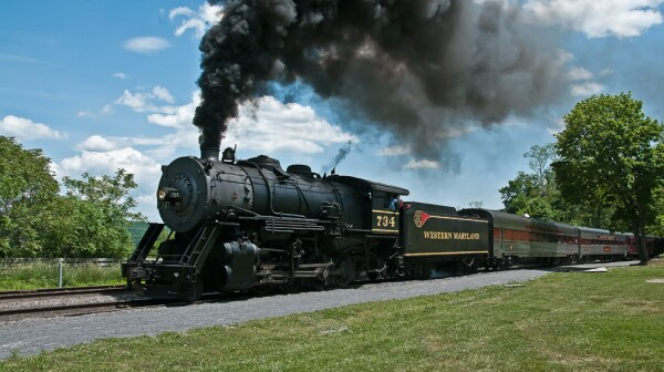 Western Maryland Scenic Trainride