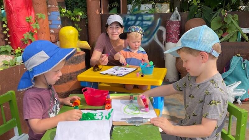 Randee Bloom and grandkids.jpeg