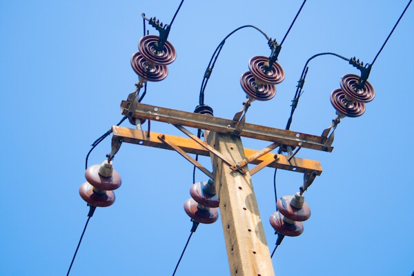 Electricity pillar