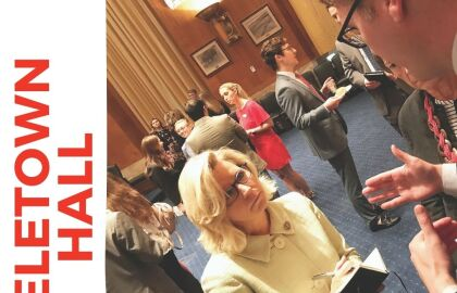 Cheney TeleTown Hall is Postponed