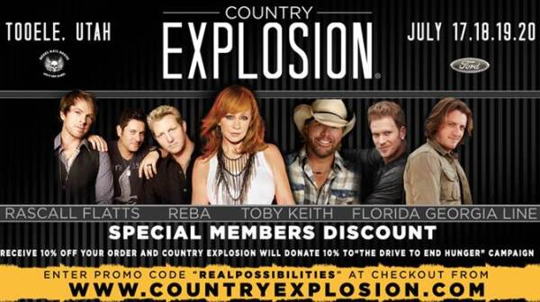 Country Explosion logo