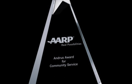 Shakopee Woman Receives AARP's Most Prestigious Volunteer Award