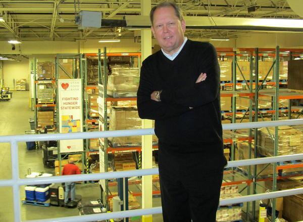 Utah Food Bank CEO Jim Yorgason