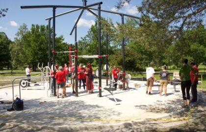 Join AARP Maine for the Bangor Fitness Park Grand Opening!