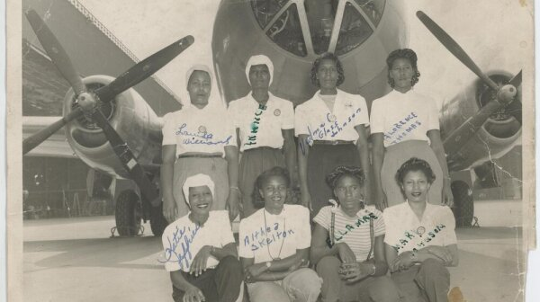 Black Rosies working at Boeing in the 1940s