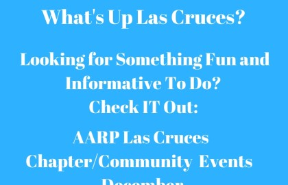 as Cruces AARP Community Events -- December