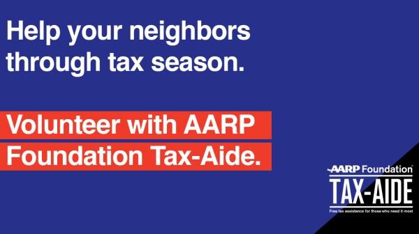 Tax Aide Volunteer Recruitment
