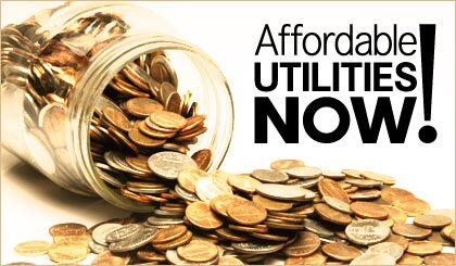 Affordable Utilities Now!
