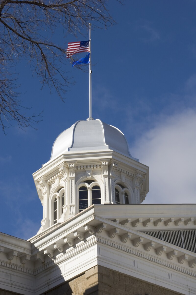 Capitol building in Carson City, NV