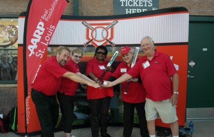 Connect with AARP St. Louis at a River City Rascals Game