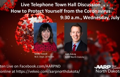 Did You Miss the  July 1 COVID-19 Telephone Town Hall? You Can Listen to the Recording